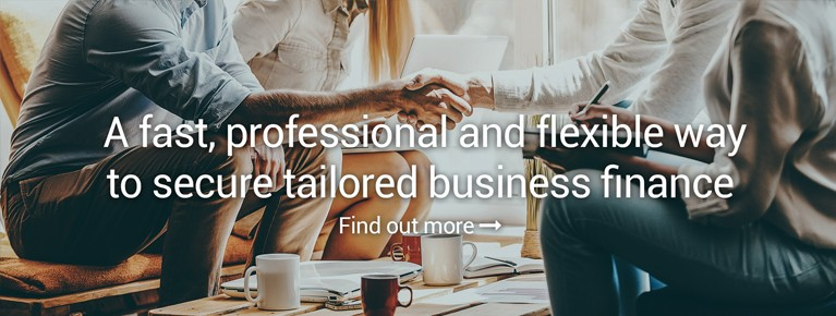 A fast, professional and flexible way to secure tailored business finance